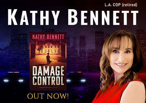 Kathy Bennett, Suspense Author
